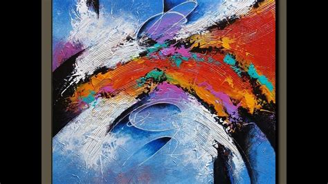 acrylic painting demonstration 1000 images about abstract paintings on