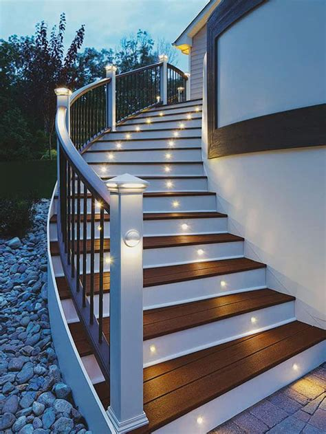 stair lights outdoor 15 attractive step lighting ideas for outdoor spaces