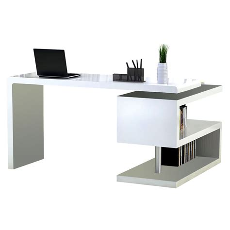 white modern office desk modern desks atkinson desk bookcase eurway modern