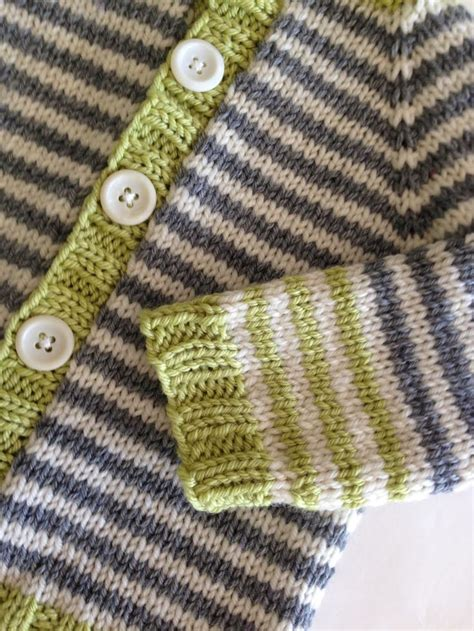 knitting stripes in the 1000 ideas about knitted baby cardigan on