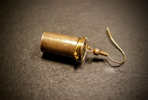 how to make bullet jewelry bullet earrings 183 how to make a pair of recycled