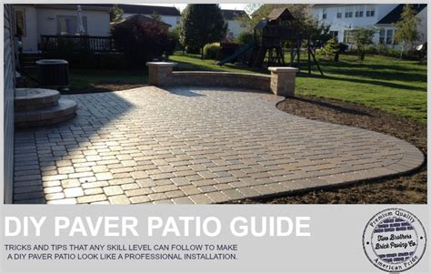 how to install pavers for a patio how to easily install a paver patio that doesn t look like