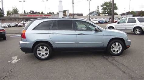Blue Chrysler Pacifica by 2004 Chrysler Pacifica Sky Blue Stock 11258