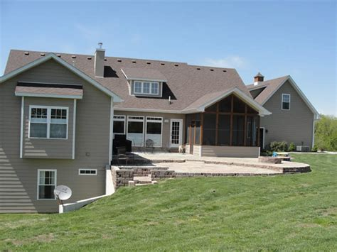 house plans with finished walkout basements ranch house plans with walkout basement basement details