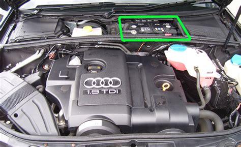 Audi Car Battery audi a4 car battery location