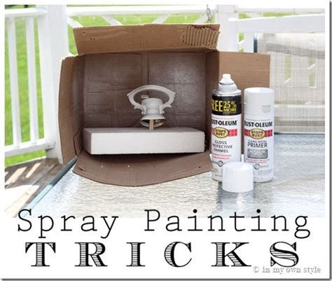 spray painting cardboard boxes 16 surprisingly smart tips and tricks to ensure a
