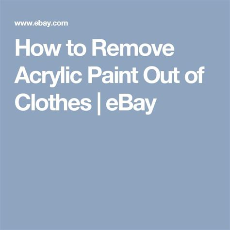 acrylic paint how to remove 17 best ideas about remove acrylics on