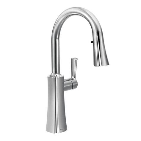 moen kitchen sink sprayer moen etch single handle pull sprayer kitchen faucet