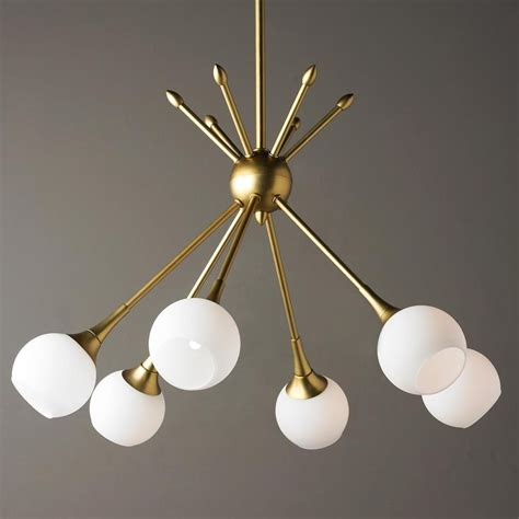 mid century pendant lights best 25 mid century chandelier ideas on