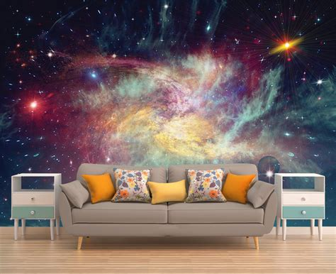 outer space wall mural space wall mural outer space wall mural galaxy wallpaper