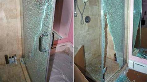 shattered shower door glass shower doors shatter suddenly abc news