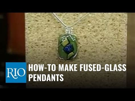 How To Make Fused Glass Pendants