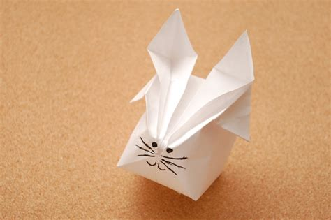 origami rabbits how to make a origami rabbit with pictures wikihow