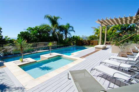 backyard makeover with pool backyard makeover modern pool coast by