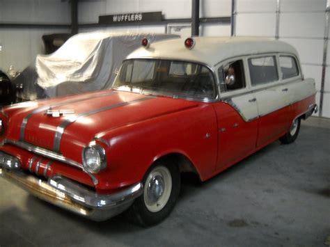 1955 Cadillac Hearse by 1955 Pontiac Ambulance Hearse Original Rat Rod For Sale