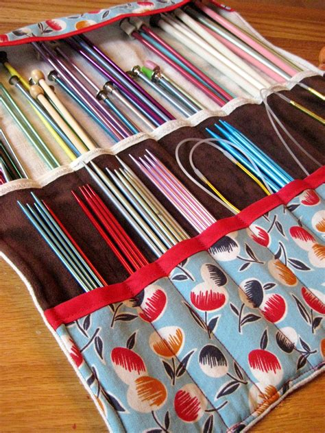 Knitting Needle Organizer Karla M Curry