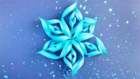 origami snowflake 3d modular 3d origami snowflake tutorial easy
