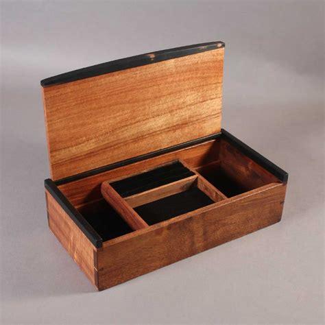jewelry boxes koa dovetailed jewelry boxes