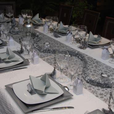 ma table de no 235 l faite maison table de noel 2009 blanc et argent d 233 co plurielles fr