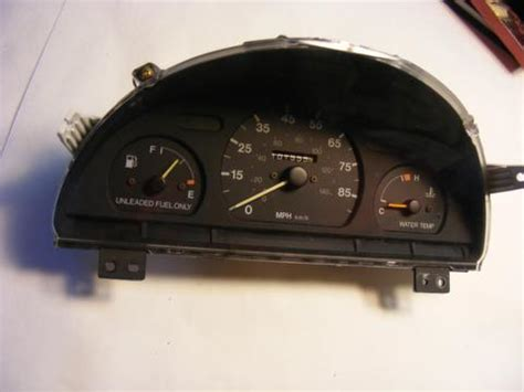 motor repair manual 1993 geo tracker instrument cluster service manual how to remove cluster in a 1993 geo tracker converting a 4cyl tachometer to