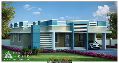 single floor house plans beautiful kerala single floor contemporary house design