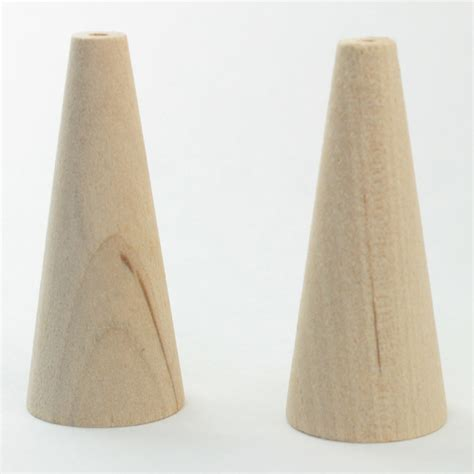 cone crafts for wooden craft cones 20 pieces 1 3 4 quot ebay