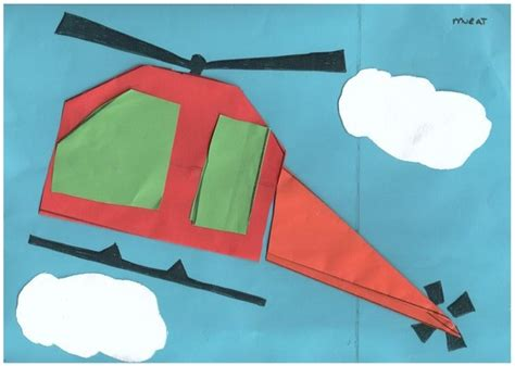 helicopter craft for crafts actvities and worksheets for preschool toddler and