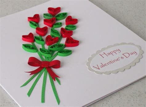 card paper craft ideas paper quilling card for s day easy arts and