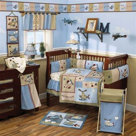 helicopter crib bedding helicopter and airplane room future glaser baby