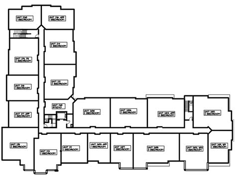 Home Plans With A View floor plans commonwealth residences