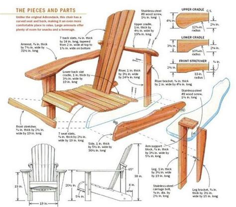 Folding Adirondack Chair Plans by Folding Adirondack Chairs Plans Projects