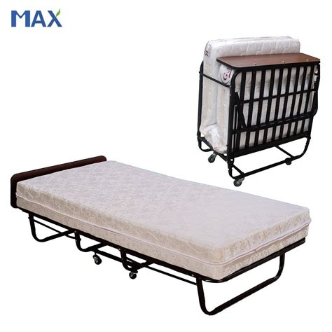 bed cot h 003 hotel folding bed cot with mattress