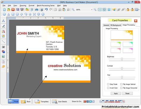 visiting card software 17 alternatives to business card maker for pages top best