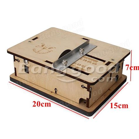 miniature woodworking diy mini table saw handmade woodworking model saw with