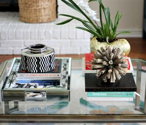 style coffee table how to style coffee tables 1 table 6 ways hi sugarplum