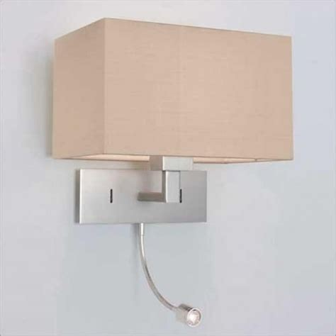 bedroom wall lighting fixtures bed wall light with integral led book light hotel
