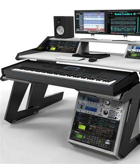 studio desk home studio desk workstation furniture