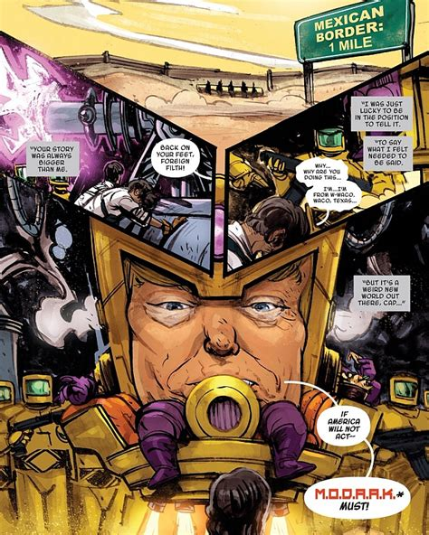 turn your picture into a comic book character marvel comics turn donald into a supervillain nmtv