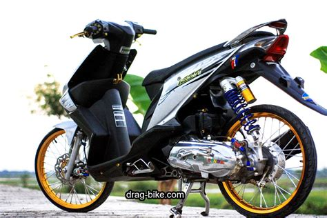 Gambar Modifikasi Motor Honda Beat by 50 Foto Gambar Modifikasi Beat Kontes Racing Jari
