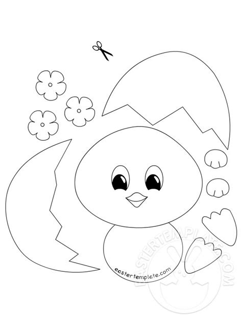 printable easter crafts for easy easter crafts for easter template