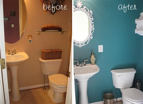 paint ideas for small powder room before after powder room grace notes