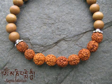 authentic rudraksha genuine rudraksha sandalwood bracelet mala purified