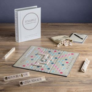 vintage edition scrabble 15 board for book gift ideas for writers