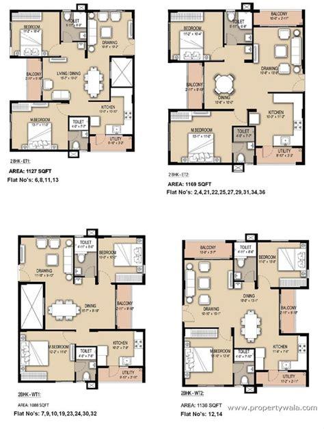 Best Small Home Floor Plans mahaveer rhyolite apartment bannerghatta road bangalore