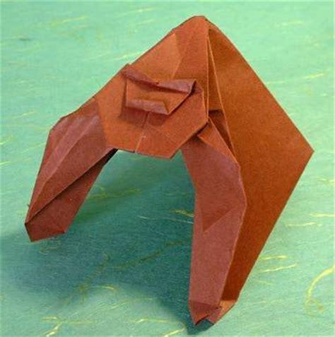 origami gorilla image origami gorilla