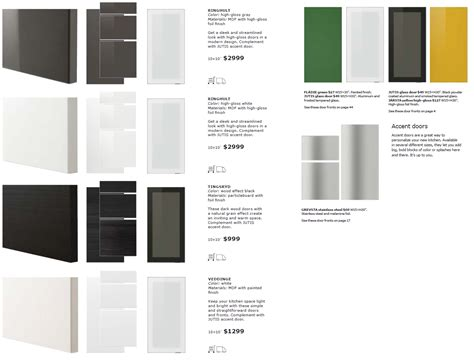 kitchen cabinet fronts a look at ikea sektion cabinet doors