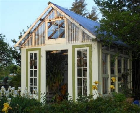 greenhouse chandelier greenhouses from windows and doors nifty homestead