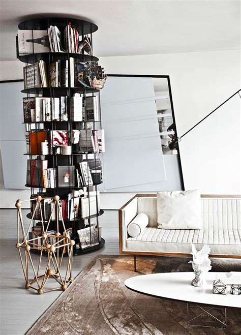 circular bookshelves circular metal bookcase ideas