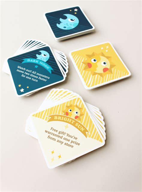 how to make question cards for a board town board on behance