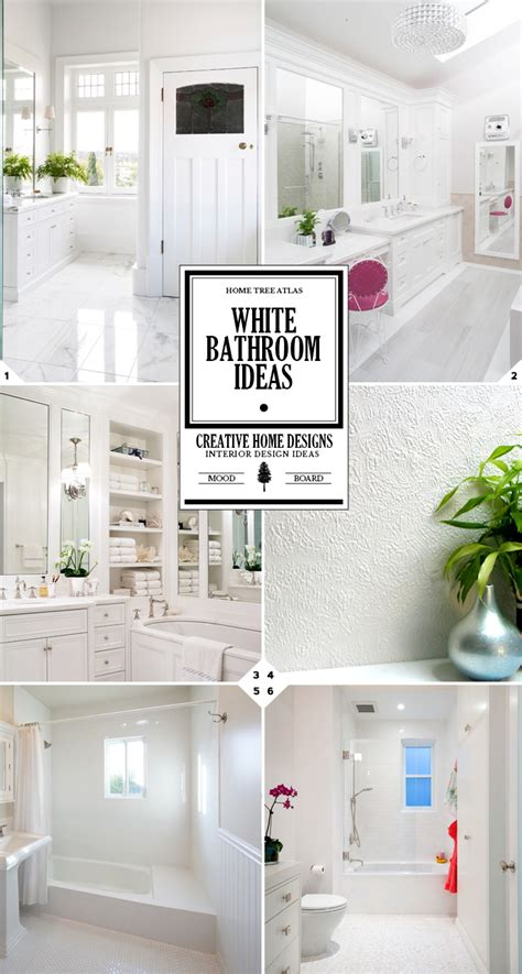 all white bathroom ideas color style guide all white bathroom ideas home tree atlas